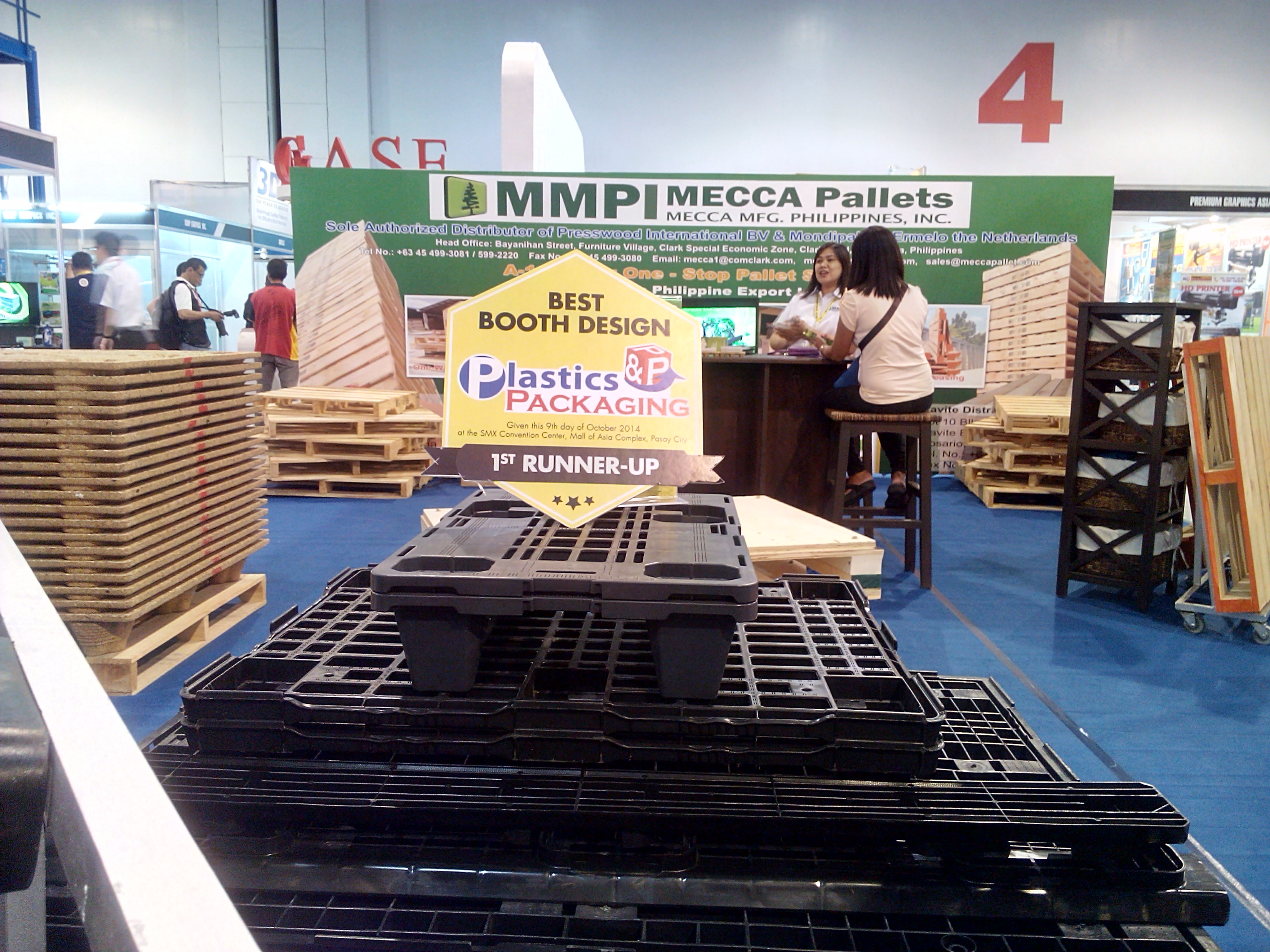 PLASTIC & PACKAGING BEST BOOTH DESIGN